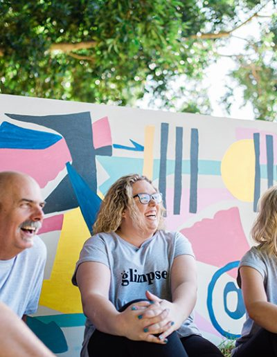 laughing team from The Glimpse Project